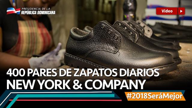 VIDEO: 400 pares de zapatos diarios. New York & Company