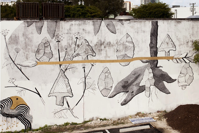 Street Art Collaboration By Pastel and 2501 in Wynwood, Miami For The Mirorless Project. 5