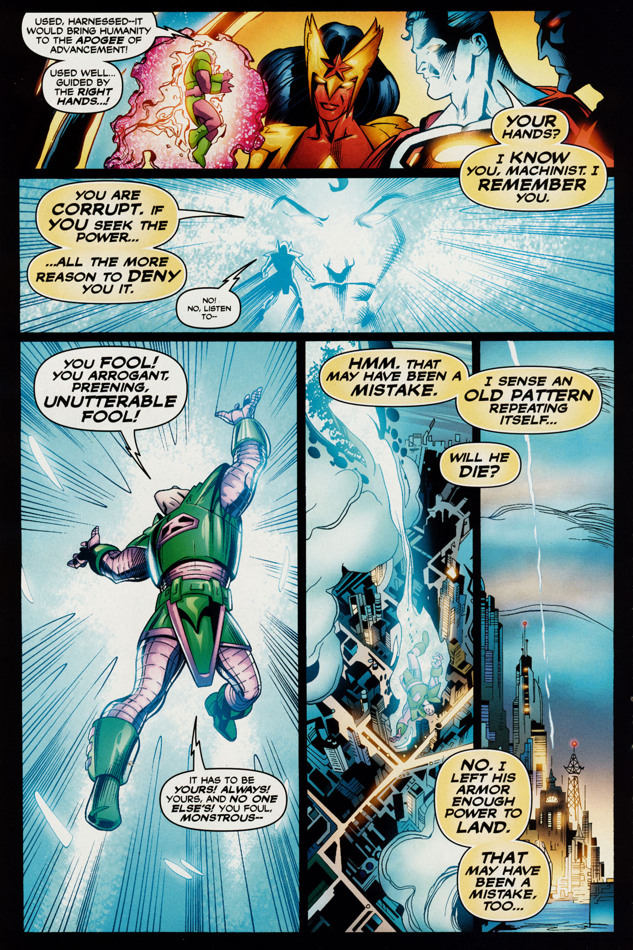 Read online Trinity (2008) comic -  Issue #42 - 10