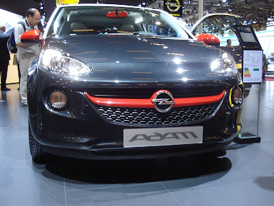 Opel Adam blue