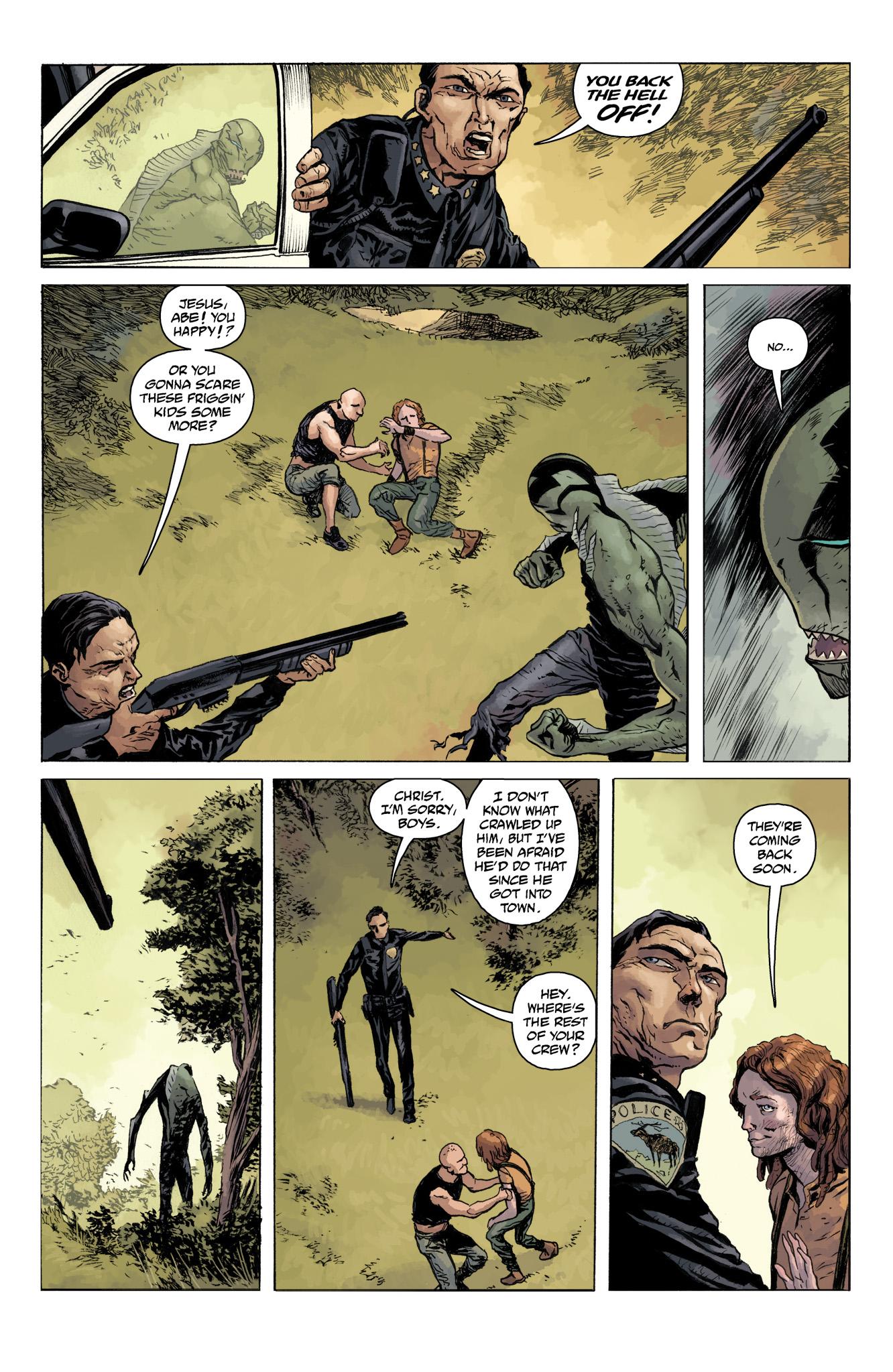 Read online Abe Sapien comic -  Issue #11 - 10
