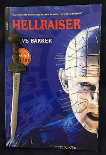 Portada del libro Hellraiser, de Clive Barker