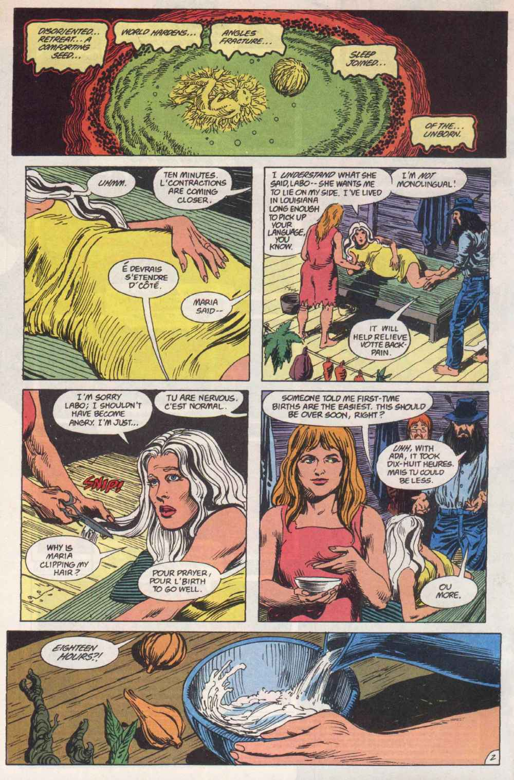 Swamp Thing (1982) Issue #90 #98 - English 3