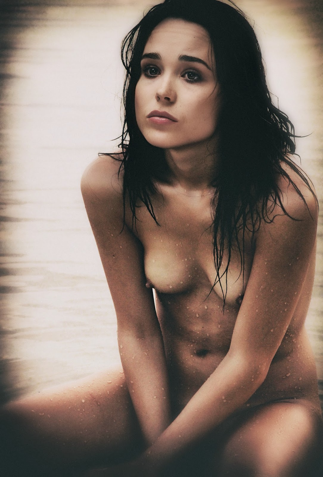 Ellen page topless