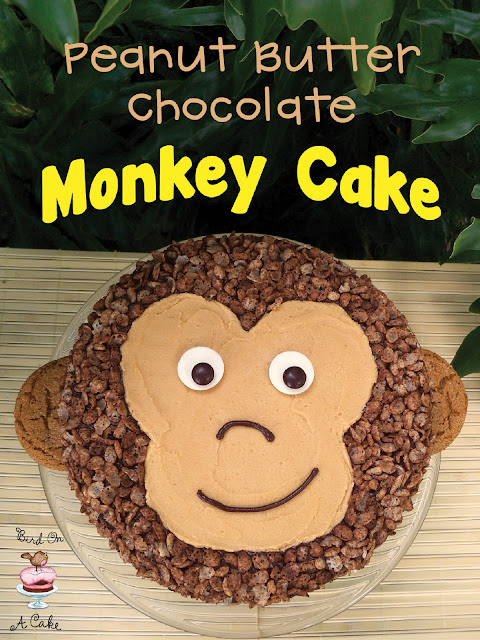 Peanut Butter Chocolate Monkey Cake Edible Crafts