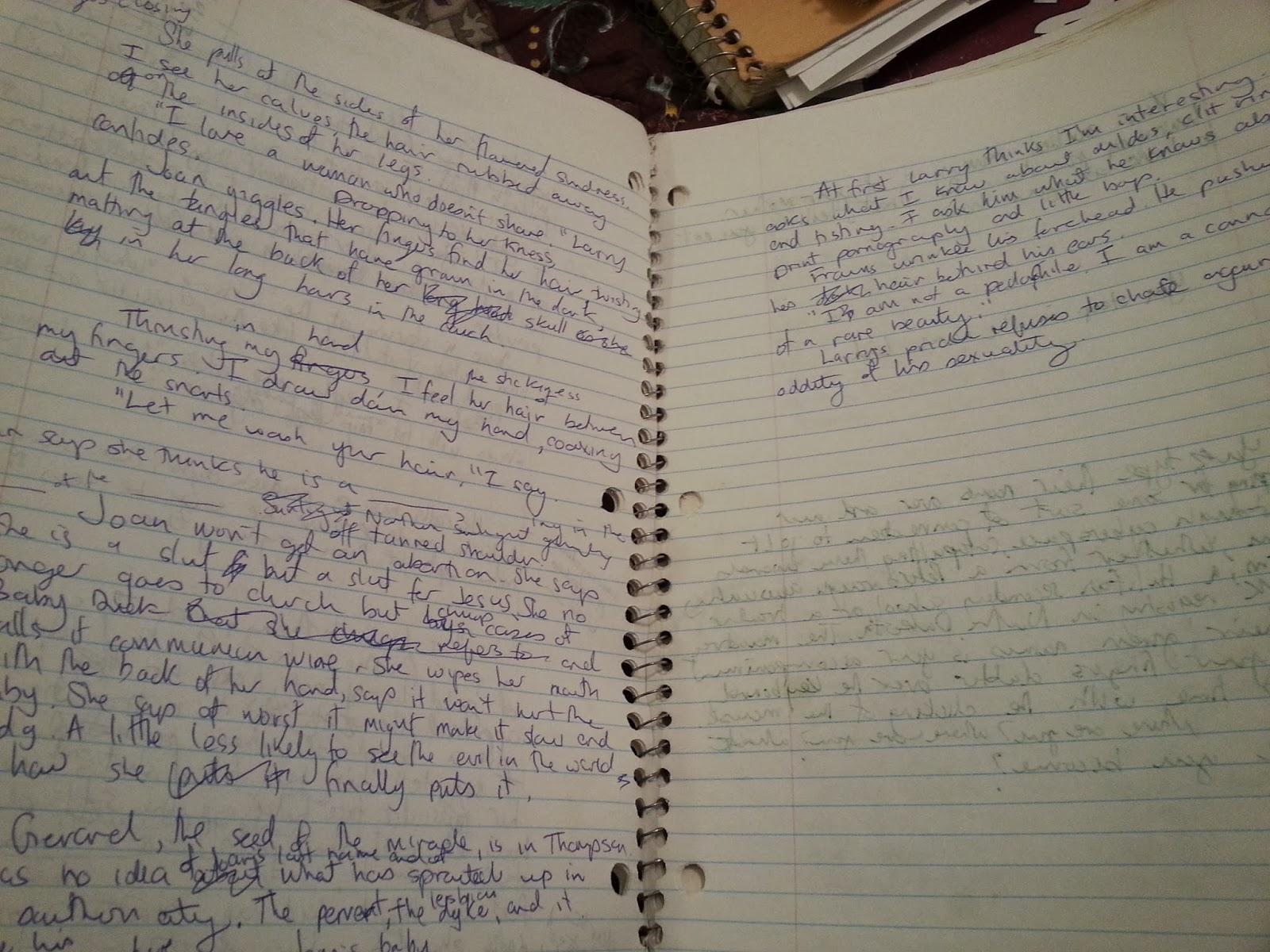 Writing a Novel Longhand