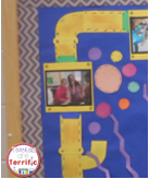 Science Bulletin Board! Here's one part of my mad scientist board!