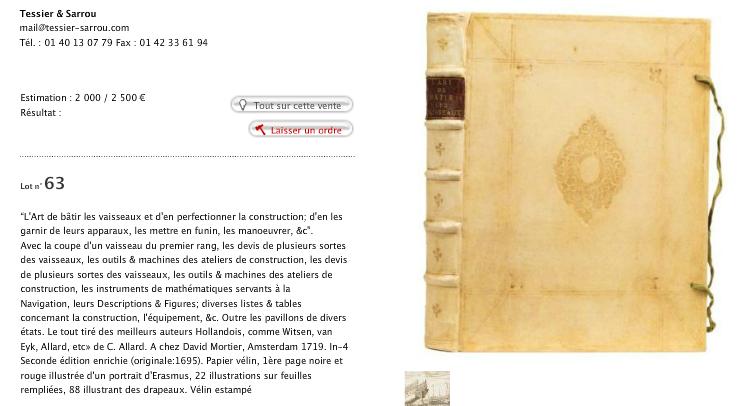 Historic Marine France Beau Livre Ancien