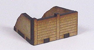 Outward Wedge Trench Section T25-10mm-05 front