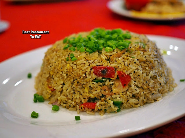 Tung Yuen - Chinese New Year Set Menu 2020 - Black Pepper Fried Rice with Chicken