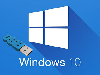 Cara membuat windows bootable usb win 10