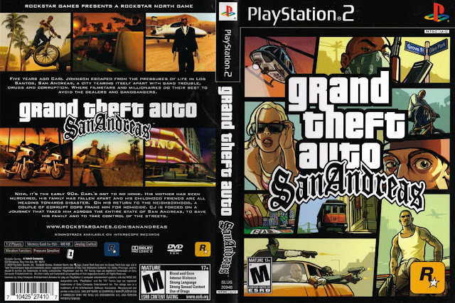 Kumpulan Cheat GTA San Andreas PS2, PS3, PC Terlengkap 2016