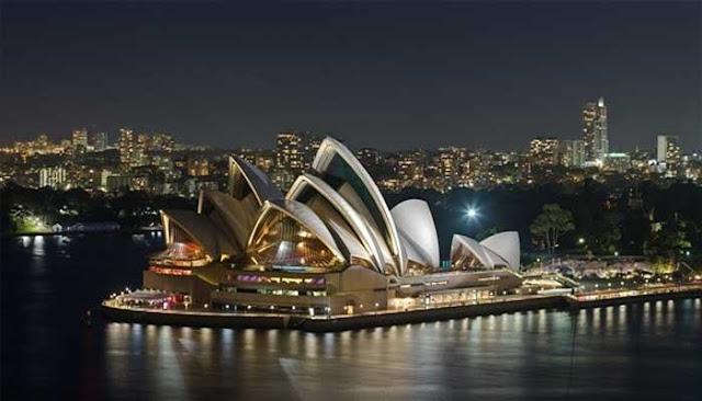 Bangunan Ikon Dunia Sydney Opera House
