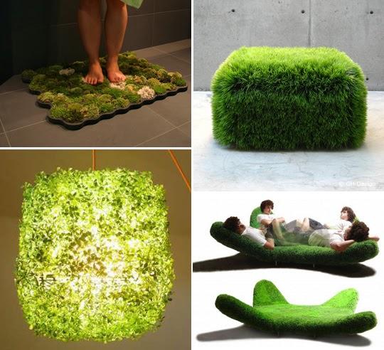 Designing For Living Moss Mats Grass Beds And Green Walls