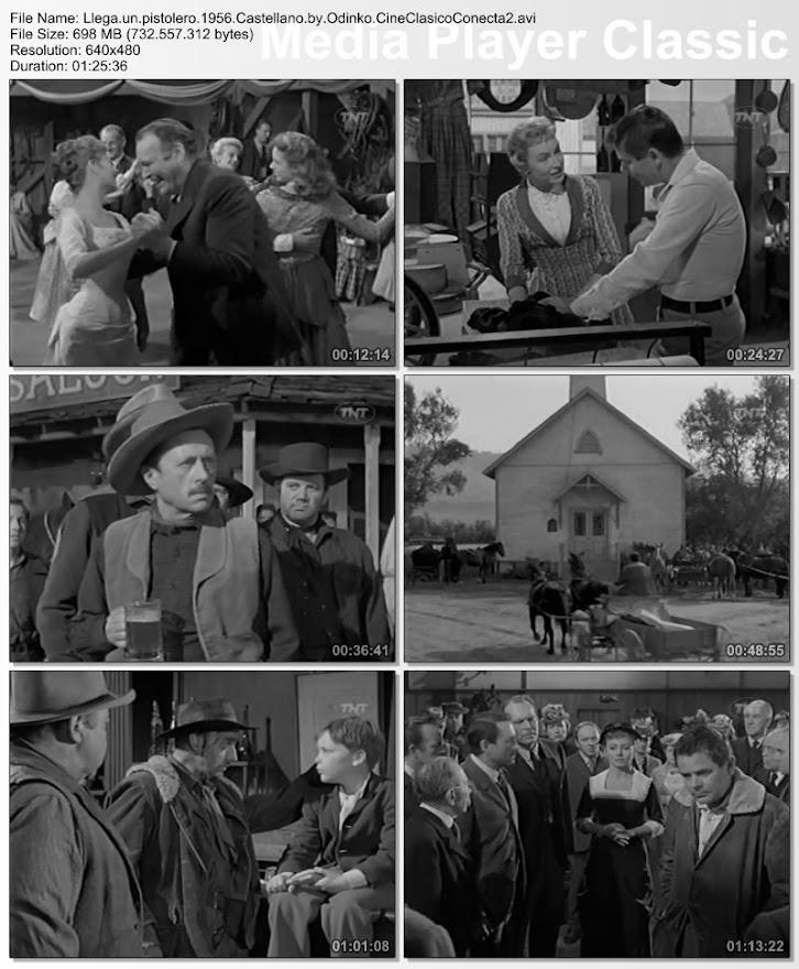 Llega un pistolero (1956) | Capturas de pantalla