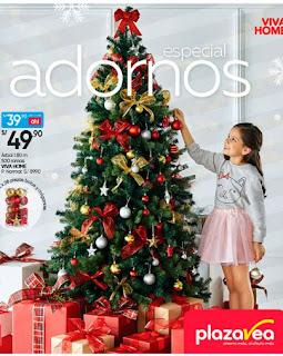Catalogo plaza vea especial adornos navidad 2017