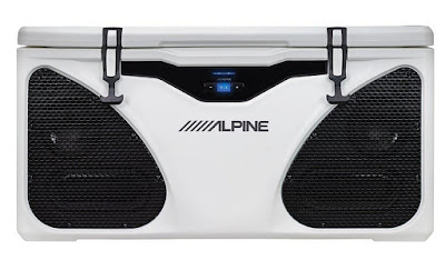 Alpine Cooler and Entertainment System