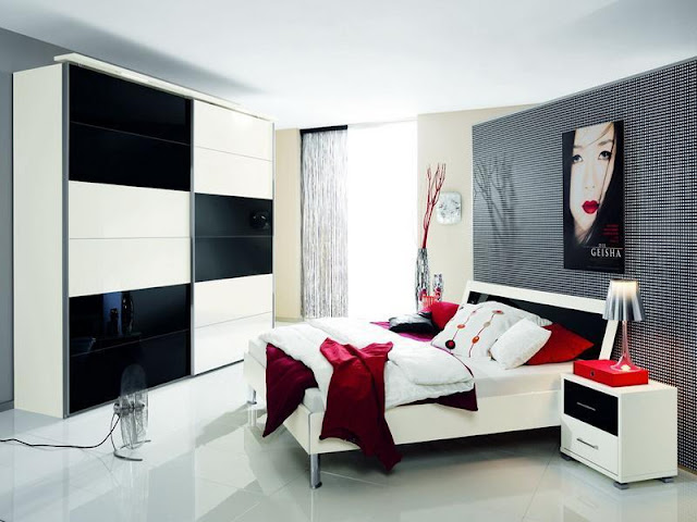Stylish Red And Black Bedroom Stylish Red And Black Bedroom Stylish 2BRed 2BAnd 2BBlack 2BBedroom
