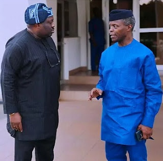 Dele Momodu and Osinbajo