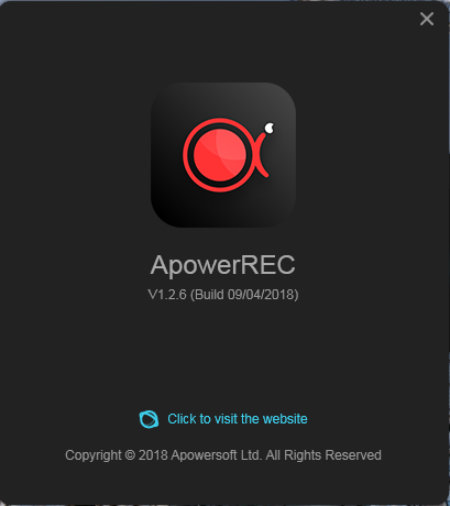 Download APowerREC 1.2.6 Full Version