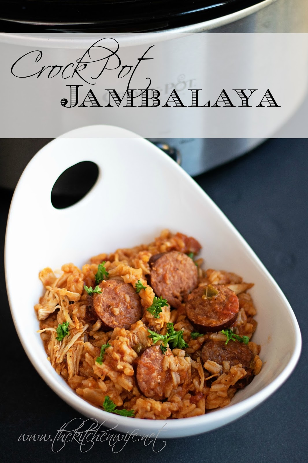 #Recipe : Crock Pot Jambalaya