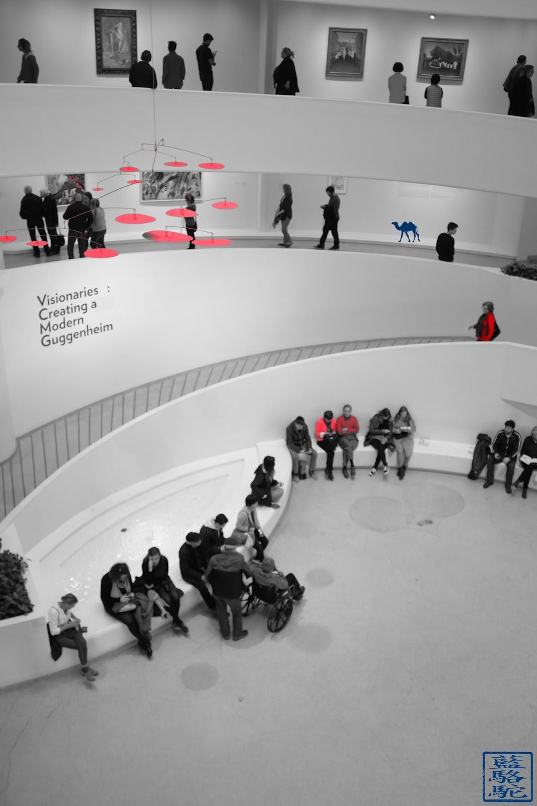Le Chameau Bleu - New York - Musée Guggenheim