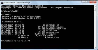 Cara Mengembalikan File Yang Terhidden Di Flashdisk