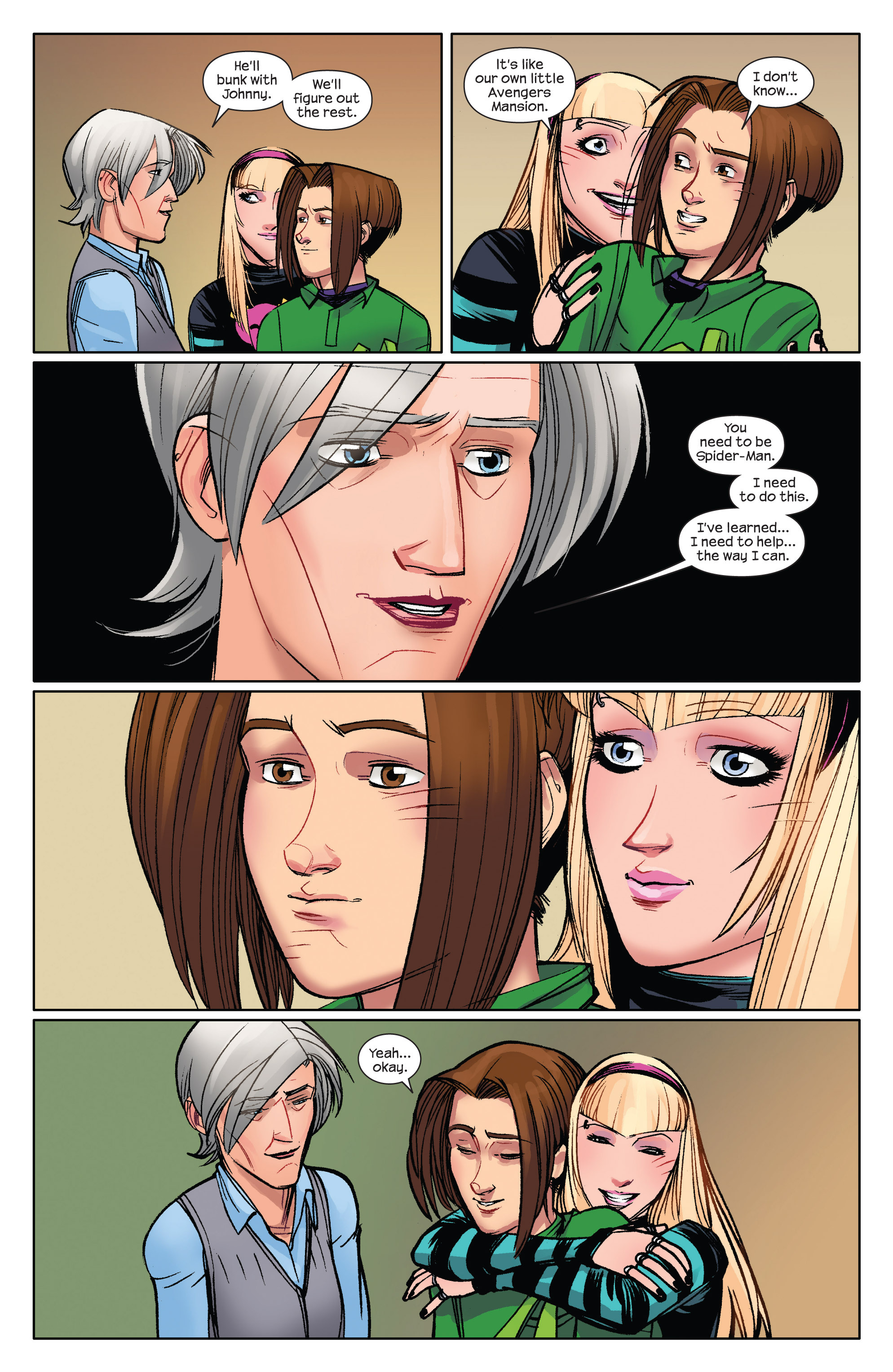 Read online Ultimate Spider-Man (2009) comic -  Issue #5 - 19