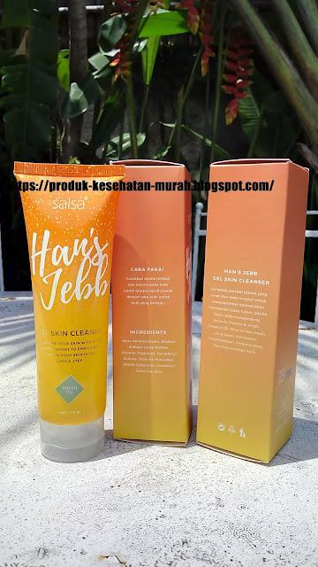 Salsa Han's Jebb | Pembersih Daki | Gel Skin Cleanser | Vitamin E