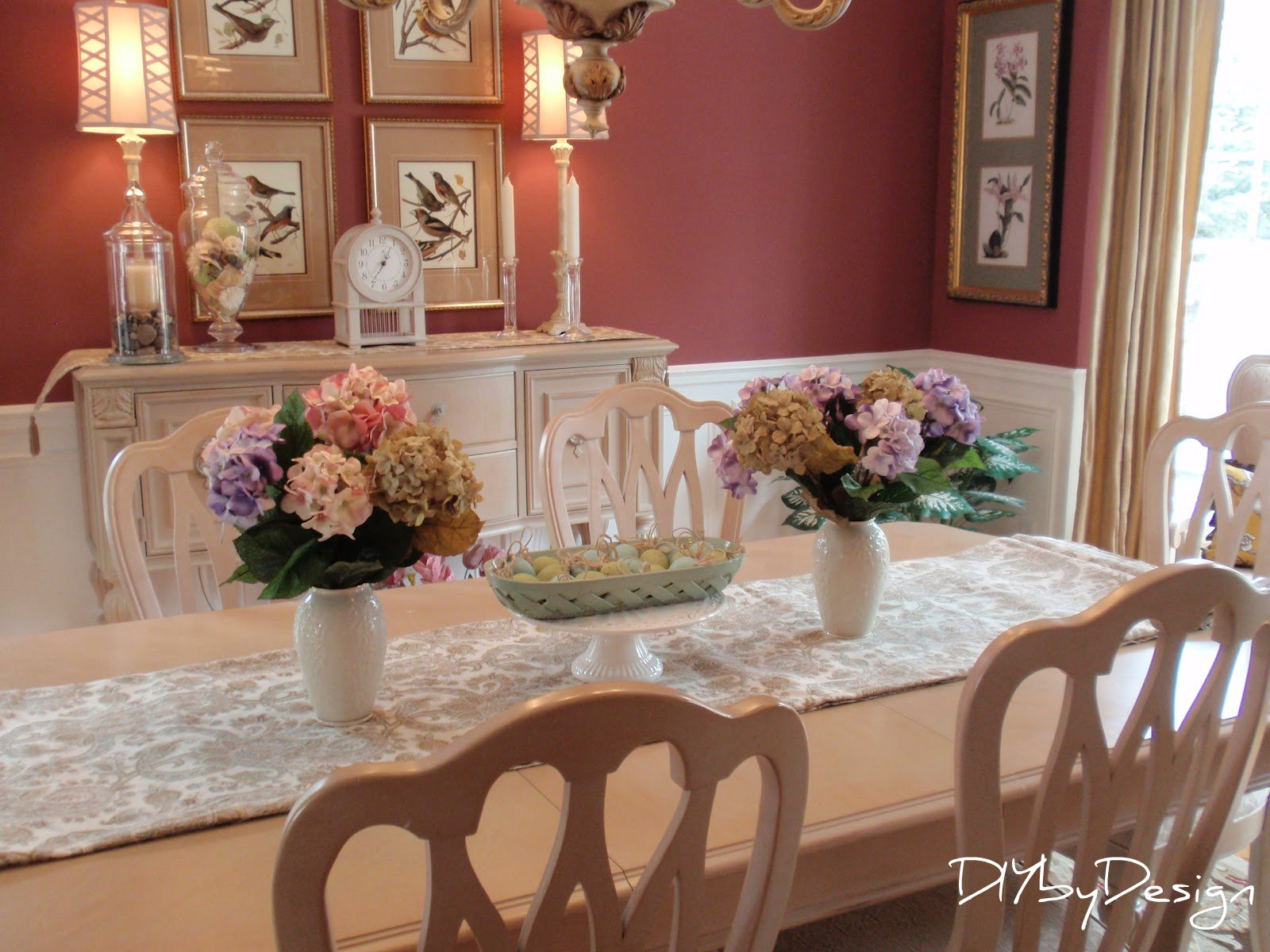 DIY by Design: Springing up the Dining Room