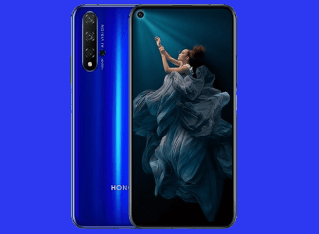Honor 20 with quad cameras now official