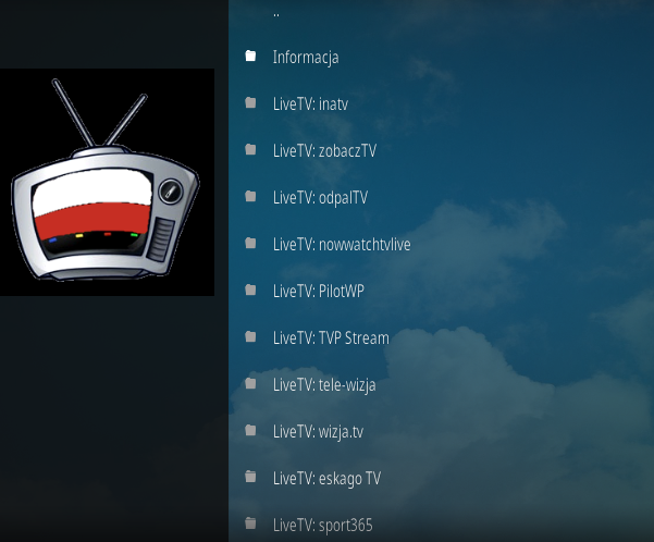 Live Polish TV Addon - How To Install Live Polish TV Kodi