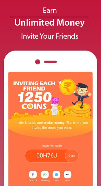 Earn Money -Get ₹50 and 1020 points intensely in wallet on SignUp