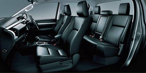 Toyota Hilux Double Cabin 2016 Dimension