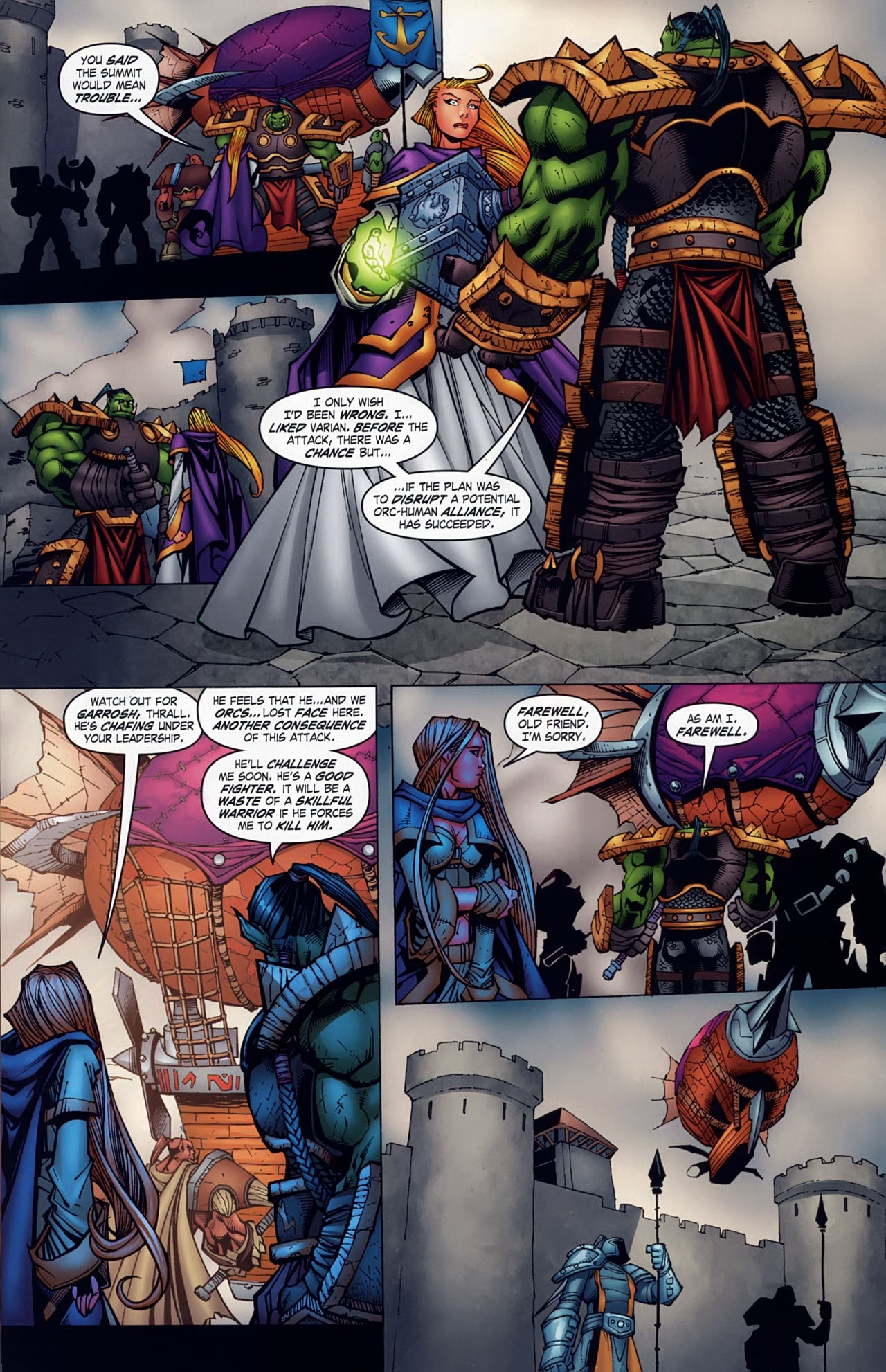 Read online World of Warcraft comic -  Issue #18 - 17