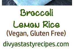 Recipe - Broccoli Lemon Rice