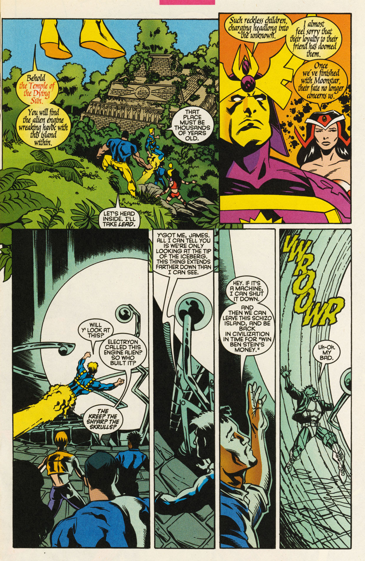 Read online X-Force (1991) comic -  Issue #93 - 15