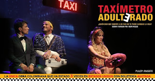 Taxímetro adulterado Teatro Santa Fe 1