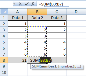 Kecepatan dan ketepatan bekerja memakai aplikasi ms Tips Cara Cepat Menggunakan Autosum