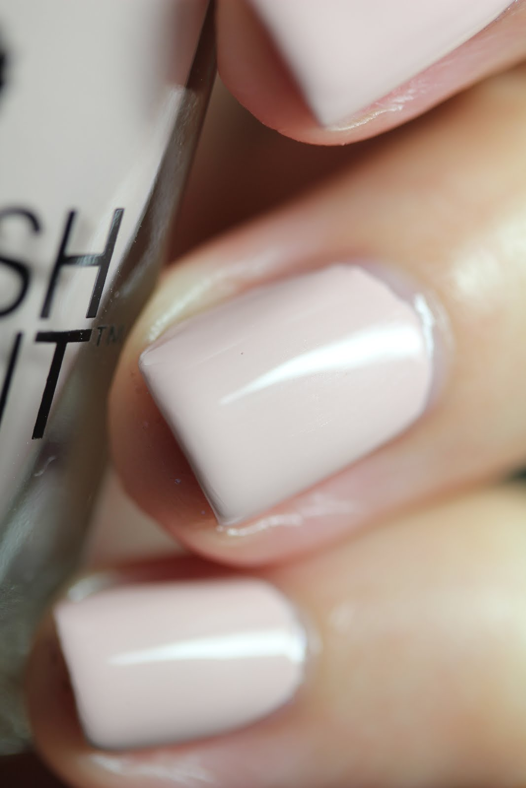 Streets Ahead Style: Fresh Paint Blank Space Nail Lacquer