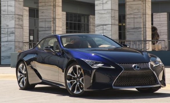 2018 Lexus LC500 Japan's husky new starlet trades on glamour.