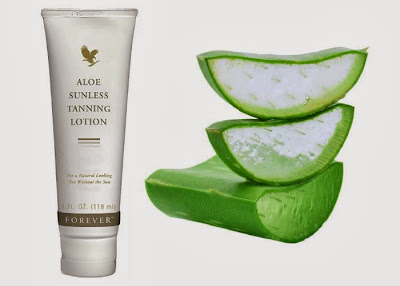 Art. 195 - FOREVER ALOE SUNLESS TANNING LOTION - CC 0,096
