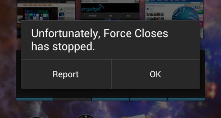 Cara Mengatasi Aplikasi Android Force Closes Tanpa Root