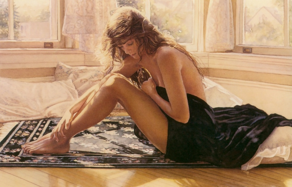 sensuous watercolors of steve hanks