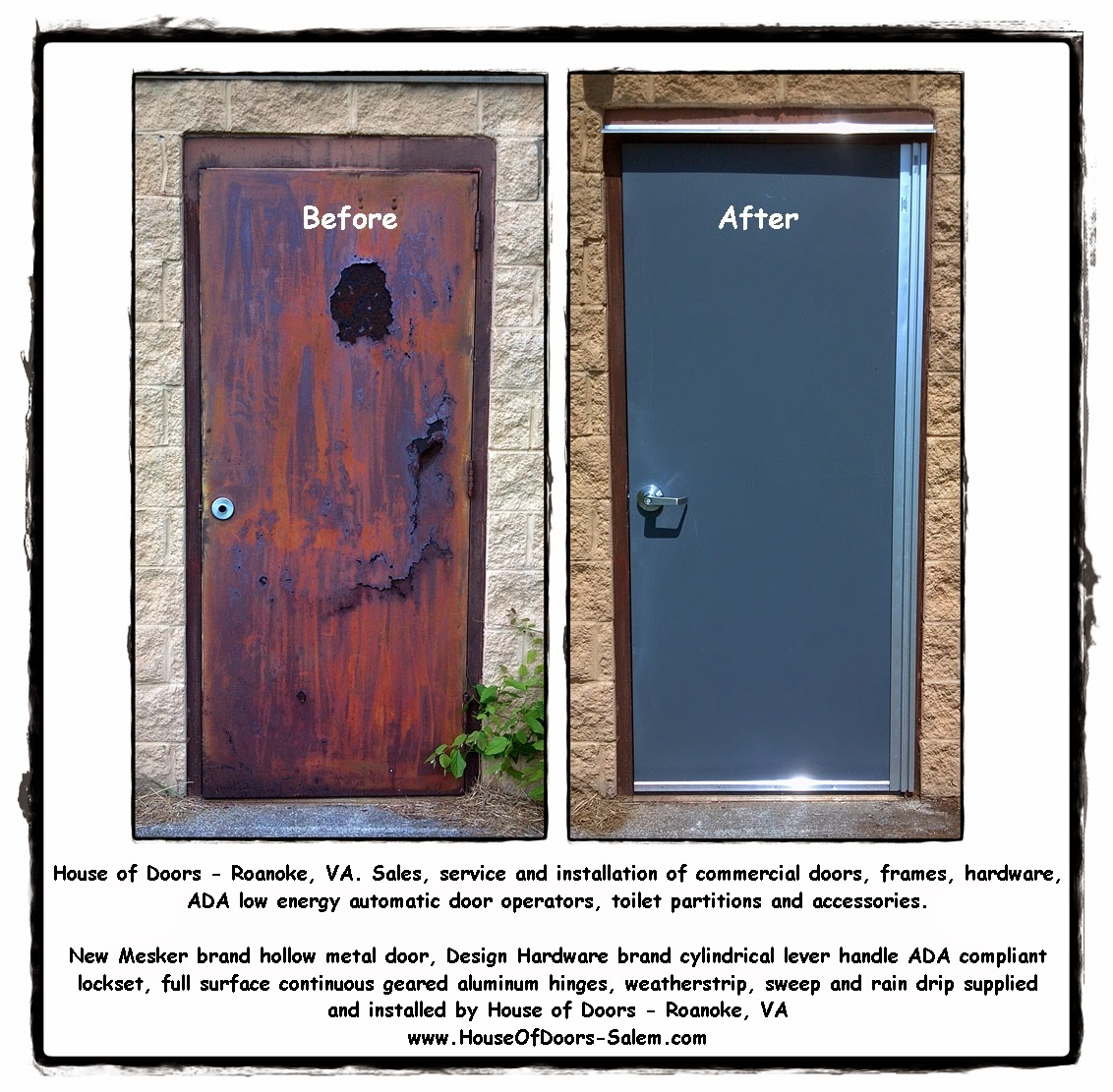 House of Doors - Roanoke, VA a stunning transformation. Commercial ...