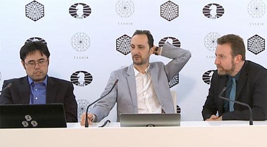 Nouvelle défaite pour Veselin Topalov aura joué le punchung-ball de service dans ce tournoi d'échecs des candidats - Photo © Amruta Mokal