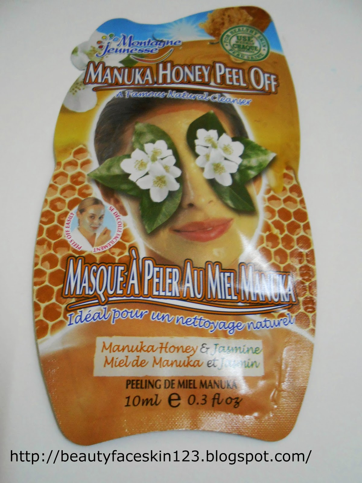 MONTAGNE JEUNESSE MANUKA HONEY PEEL OFF