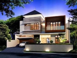 Contoh Gambar Model Rumah Cantik Yang Menarik Saat Ini
