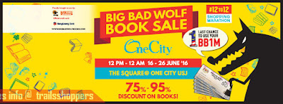 The Big Bad Wolf Book Sale 2016