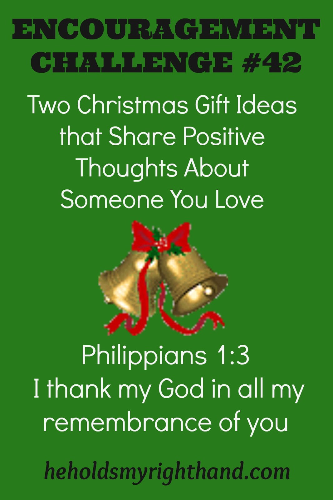 He Holds My Right Hand: Encouragement Challenge #42: Two Christmas ...